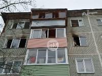В пятиэтажке на ул. Маршала Жукова в Туле сгорела квартира, Фото: 3