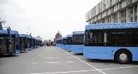 Правительство Москвы подарило Туле 20 автобусов., Фото: 7