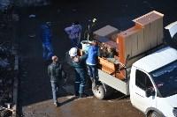 У дома, поврежденного взрывом в Ясногорске, демонтировали опасный угол стены, Фото: 34