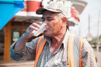 Раздача воды на улицах Тулы 07.15, Фото: 9