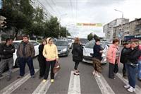 Митинг предпринимателей на ул. Октябрьская, Фото: 7