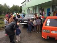 Участники тульского автоклуба поздравили детей-сирот с началом учебного года, Фото: 14