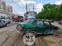 Серьезное ДТП на Зеленстрое: водитель «девятки» от удара вылетел из машины, Фото: 15