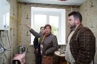Алексей Дюмин посетил дом в Ясногорске, восстановленный после взрыва, Фото: 7