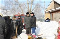 Пожар в жилом бараке, Щекино. 23 января 2014, Фото: 21