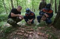 В лесу под Тулой поисковики нашли тайник с гранатами, Фото: 23