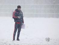 «Арсенал» готовится на снежном поле к игре против «Тосно», Фото: 10