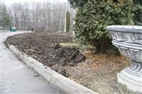 Ремонтные работы в ЦПКиО им. Белоусова, Фото: 3