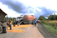 ДТП на втором километре автодороги «Щекино-Ломинцево», Фото: 1