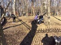 Субботник в Комсомольском парке с Владимиром Груздевым, 11.04.2014, Фото: 1