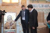 Груздев инспектирует работы в Тульском кремле. 8.09.2015, Фото: 16