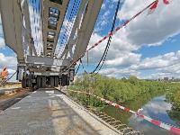 Восточный обвод: Строительство моста через Упу, Фото: 18