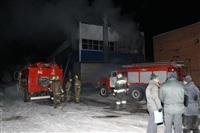 Пожар на складе ОАО «Тулабумпром». 30 января 2014, Фото: 10