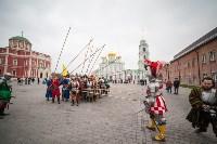Средневековые маневры в Тульском кремле. 24 октября 2015, Фото: 169