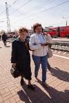 Открытие монумента и бронепоезда на Московском вокзале. 8 мая 2015 года, Фото: 96