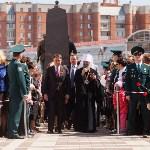 Открытие монумента и бронепоезда на Московском вокзале. 8 мая 2015 года, Фото: 38