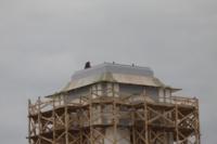 Установка шпиля на колокольню Тульского кремля, Фото: 3