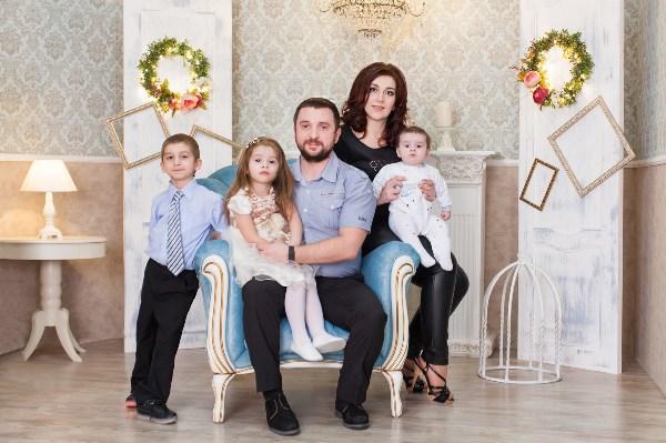 Наша дружная семья ))))