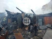 Пожар возле Тульского цирка, Фото: 9