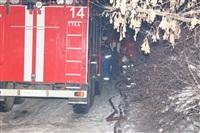 В пос. Менделеевский сгорел частный дом., Фото: 10