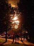 Пожар на ул. Михеева в ночь на 7 августа 2015 года, Фото: 1