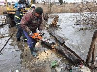 Паводок отступает: транспортное сообщение по мостам в Одоевском и Суворовском районах восстановлено, Фото: 4