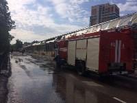 """На ул.9 Мая сгорел рынок """"Салют"""", Фото: 3"""
