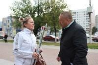 Сергей Шестаков поздравляет тулячек с наступающим днем города, Фото: 6
