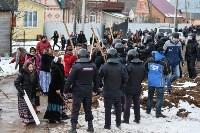 Бунт в цыганском поселении в Плеханово, Фото: 44