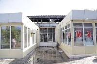 """На ул.9 Мая сгорел рынок """"Салют"""", Фото: 16"""