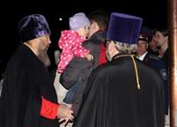 Пасхальная служба в Успенском соборе. 20.04.2014, Фото: 4