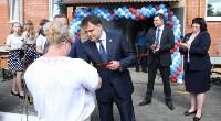 Владимир Груздев на вручении ключей от новых квартир переселенцам в Богородицке, Фото: 3