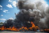 Пожар в гаражном кооперативе №17, Фото: 6