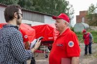 Тульское МЧС передало муниципальным образованиям области прицепы спасательных постов, Фото: 7