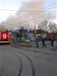 В Туле загорелся дом, Фото: 1