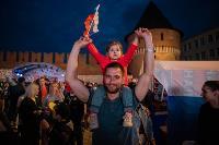 Как туляки поддерживали сборную России в матче с Бельгией, Фото: 52