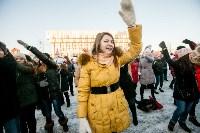 Физкультминутка на площади Ленина. 27.12.2014, Фото: 28