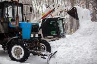 Последствия снежного циклона в Туле, Фото: 57