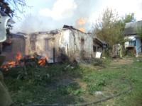 В Щекинском районе при пожаре пострадал человек, Фото: 2