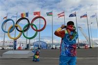 Волонтеры в Олимпийском парке в Сочи., Фото: 5
