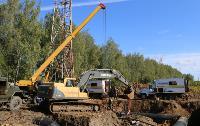 Как ведется монтаж водовода, питающего водой Пролетарский округ Тулы. Фото, Фото: 8