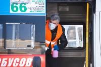 Как в Туле дезинфицируют маршрутки и автобусы, Фото: 7