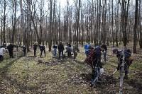 Посадка деревьев в Комсомольском парке, Фото: 32