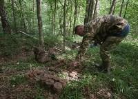 В лесу под Тулой поисковики нашли тайник с гранатами, Фото: 16