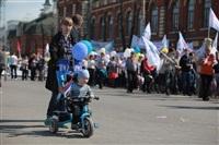 Тульская Федерация профсоюзов провела митинг и первомайское шествие. 1.05.2014, Фото: 25