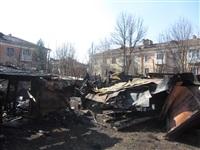 Сгоревшие сараи на улице Немцова в Туле, Фото: 7