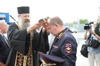Сотрудники ОМОН поклонились мощам святого великомученика Георгия Победоносца, Фото: 21