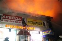 На ул. Оборонной в Туле сгорел магазин., Фото: 7