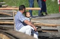 Демонтаж незаконных цыганских домов в Плеханово и Хрущево, Фото: 40