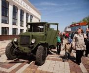 Открытие монумента и бронепоезда на Московском вокзале. 8 мая 2015 года, Фото: 2